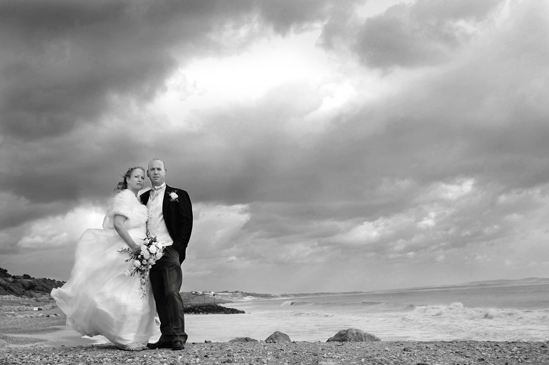 0031-Highcliffe-Castle-Christchurch-Bournemouth-Wedding-Beach-Portrait.jpg