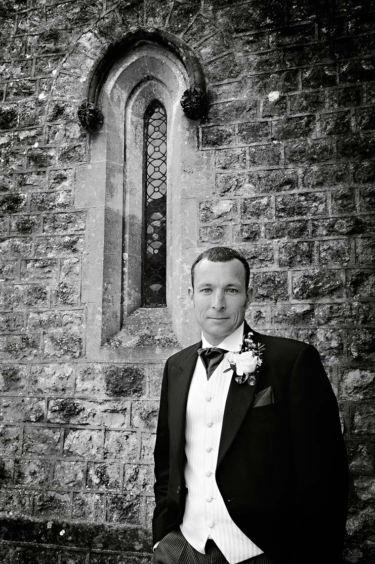 0041-Groom-Portrait-Woolland-St-Marys-Church-Dorset-Wedding-.jpg