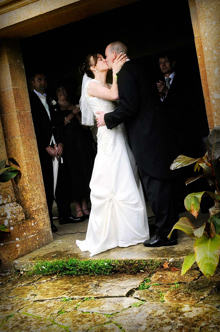 0163-Wedding-Couple-Kissing-at-Mapperton-Gardens-Beaminster-Dorset-Wedding.jpg
